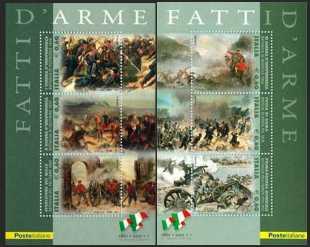 Italia 2011 - 150º anniversario dell'unità d'Italia - Fatti d'Arme