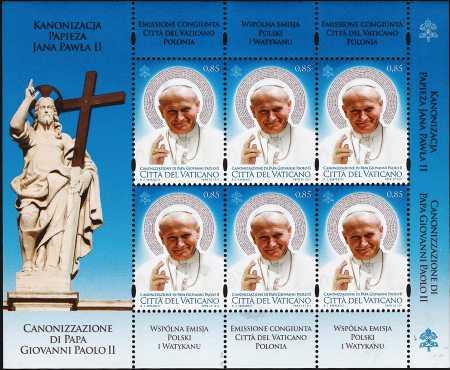 Vaticano 2014 - Canonizzazione di Papa Giovanni Paolo II