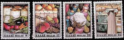 Grecia 1981 - Prodotti di esportazione