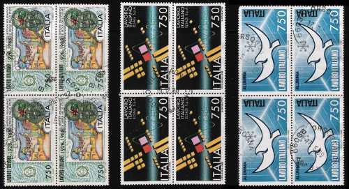1988 - Il lavoro italiano nel mondo - serie completa
