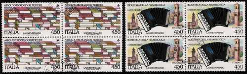 1989 - Il lavoro italiano  - 3ª serie - Industria della fisarmonica  e Arnoldo Mondadori editore