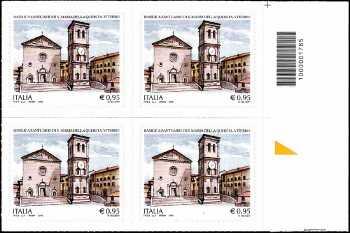 Santuario Santa Maria della Quercia - Viterbo - quartina con codice a barre n° 1785