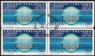 1987 - Lavoro italiano nel mondo - 1ª serie - Marzotto tessile