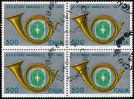 1989 - Centenario della Istituzione del Ministero delle Poste  e delle Telecomunicazioni