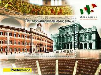 Italia 2011 - 150º anniversario della proclamazione del regno d'Italia