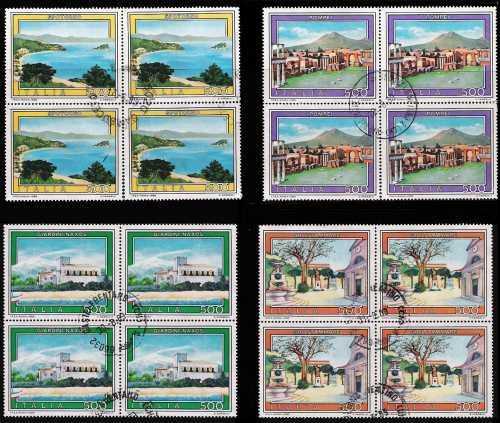 1989 - Turistica - 16ª serie - serie completa