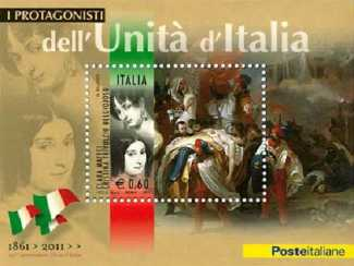 Italia 2011 - Protagonisti dell'unità d'Italia - Clara Maffei e Cristina Trivulzio Belgioiosoo