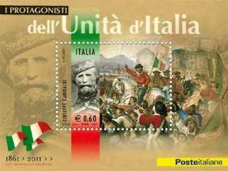 Italia 2011 - Protagonisti dell'unità d'Italia - Giuseppe Garibaldi
