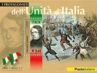 Italia 2011 - Protagonisti dell'unità d'Italia - Vincenzo Gioberti
