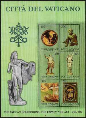 Vaticano 1983 - Collezioni vaticane d'arte negli Stati Uniti - 3ª emissione