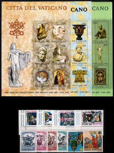 Vaticano 1983 - Annata completa