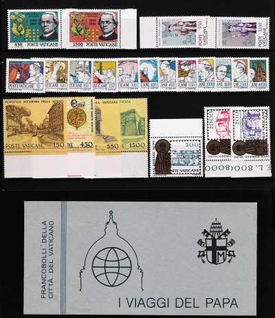 Vaticano 1984 - Annata completa