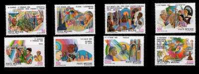 Vaticano 1987 - I viaggi del Papa nel mondo nel 1985-86