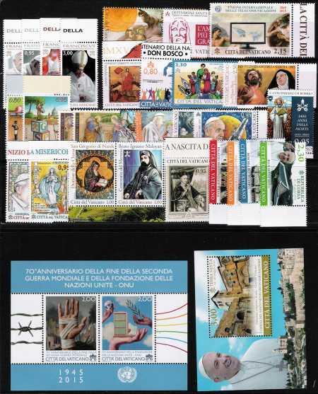 Vaticano 2015 - Annata completa