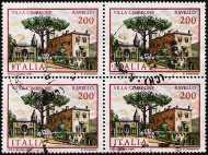 1981 - Ville d'Italia  - 2ª serie - Villa Cimbrone - Ravello