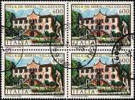 1985 - Ville d'Italia - 6ª serie - Villa De Mersi - Villazzano