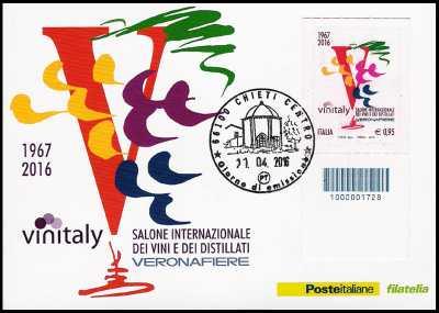 Eccellenze del sistema produttivo ed economico - Vinitaly : - Logo storico  - codice a barre n° 1728