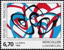 Francia 1996 - Arte - Wercollier