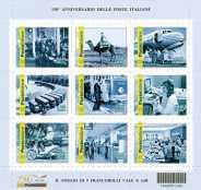 Italia 2012 - 150º anniversario delle poste italiane