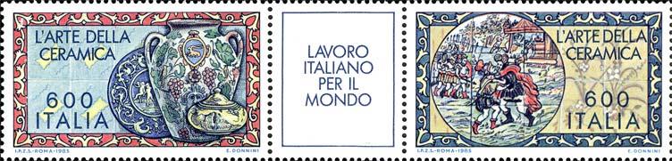Lavoro italiano nel mondo - 6ª serie - L'arte della ceramica - blocco