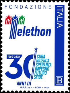 Fondazione Telethon - 30°  Anniversario di attività