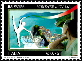 Europa - 57ª  serie - Visitate l'Italia - Litorale marino