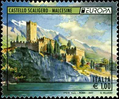 Europa - 62° serie -  Castello Scaligero - Malcesine