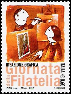 Giornata della filatelia - Ideazione grafica