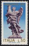 Anno Santo 1975 - Statue di angeli di Ponte S. Angelo - L. 50