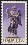 Anno Santo 1975 - Statue di angeli di Ponte S. Angelo - L. 150