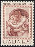 5° Centenario della nascita di Michelangelo Buonarroti - 'Diluvio Universale' - Roma