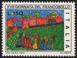 XVII Giornata del Francobollo - Disegni di bambini : Fabro di Gorizia