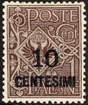 1923 - Francobolli del 1901-1923 sovrastampati