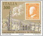 « Italia '85  » - Esposizione internazionale di filatelia a Roma - Regno di Sicilia