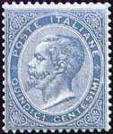 1863 - Effige di Vittorio Emanuele II