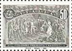 5° Centenario della scoperta dell'America - Colombo presenta i nativi