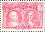5° Centenario della scoperta dell'America - Isabella e Colombo