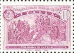 5° Centenario della scoperta dell'America - Colombo in catene