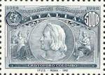 5° Centenario della scoperta dell'America -Cristoforo Colombo