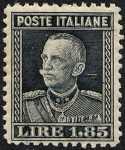 1927 - Effige di Vittorio Emanuele III