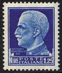 1929 - Serie detta «Imperiale» - Effige di Vittorio Emanuele III - volta a sinistra