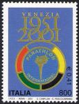 50° Anniversario della costituzione del Panathlon International, organismo internazionale sportivo - Logo