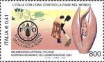 Giornata mondiale dell'alimentazione 2001 - Organismi internazionali umanitari : FAO