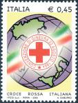 «Le Istituzioni» - 21ª serie -  Croce Rossa Italiana - logo