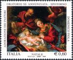 Natale - «Adorazione dei pastori»  opera di D.Piola