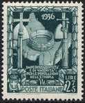 1938 - Proclamazione dell'Impero - Corona Ferrea
