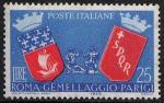 3° Anniversario del gemellaggio Roma-Parigi - L. 60