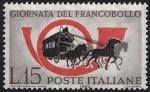 2ª Giornata del Francobollo - Corno di posta e diligenza postale