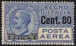 Posta aerea - Francobolli del 1926 sovrastampati con nuovo valore