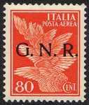 Posta aerea - Francobolli  del 1930-34 sovrastampati G.N.R.